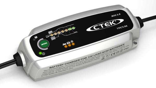 CTEK MXS 3.8 - CARICABATTERIE AUTO/MOTO