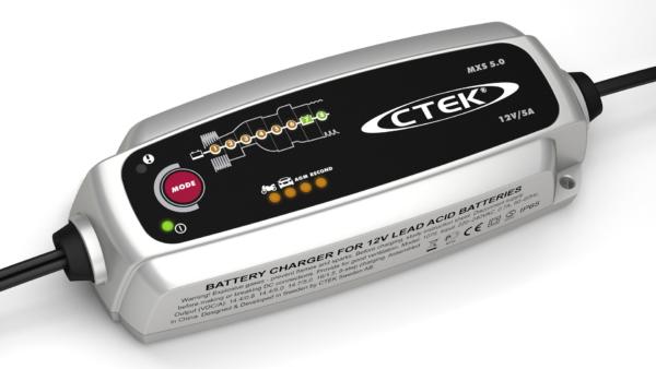 CTEK MXS 5.0 - CARICABATTERIE AUTOMATICO
